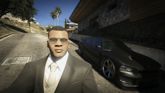 do you meet michael or franklin in gta online